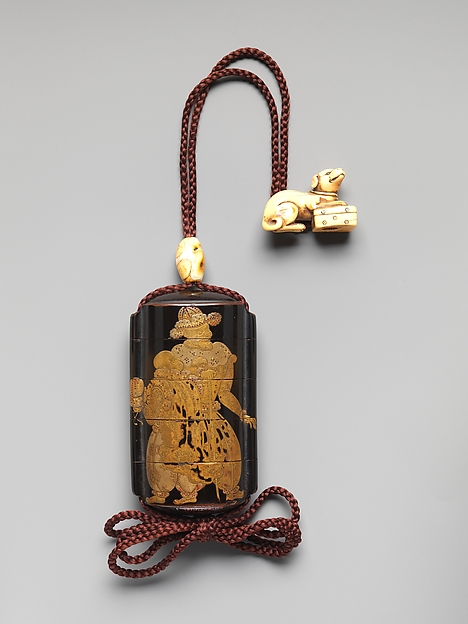 Netsuke in the Shape of a Dog