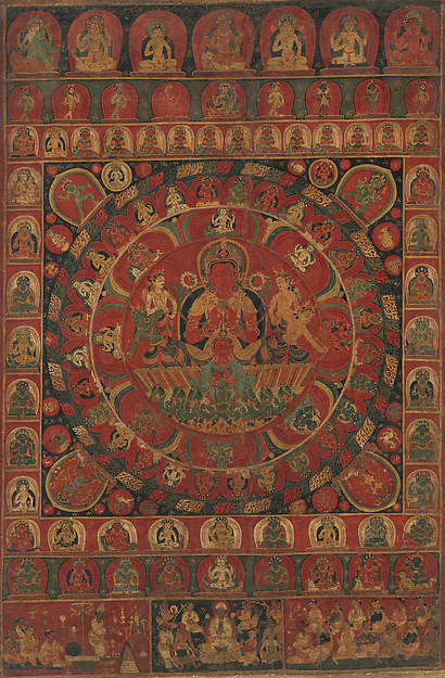 Mandala of the Sun God Surya
