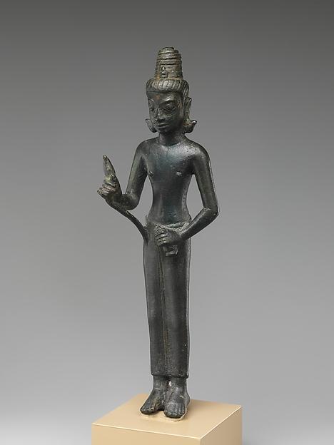 Standing Bodhisattva Maitreya , the Buddha of the Future