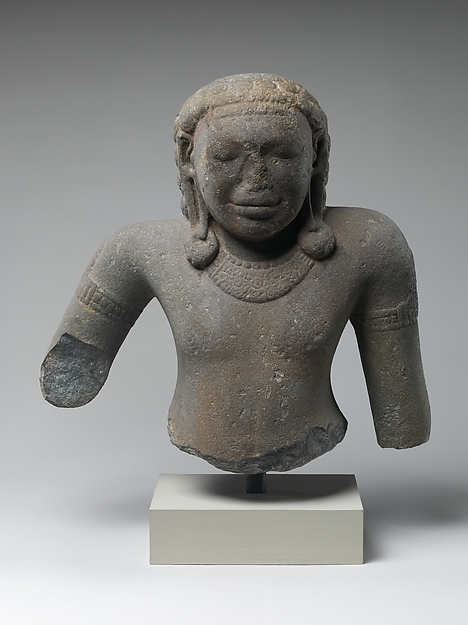 Bust of a Deity, perhaps Kubera