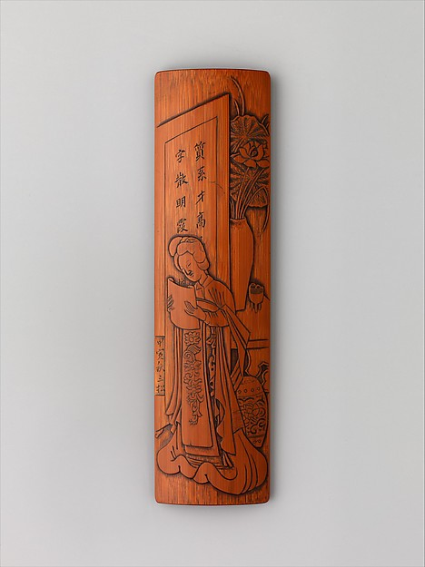 """Wrist Rest with Scene from """"The West Chamber"""""""