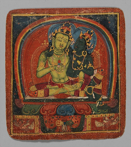 Initiation Card (Tsakalis): Amoghasiddhi