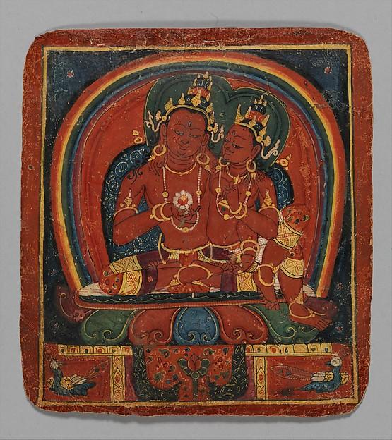 Initiation Card (Tsakalis): Amitabha
