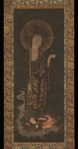 地蔵来迎図  <br/>Welcoming Descent of Jizō