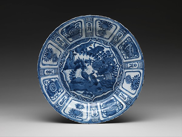 Plate with Geese