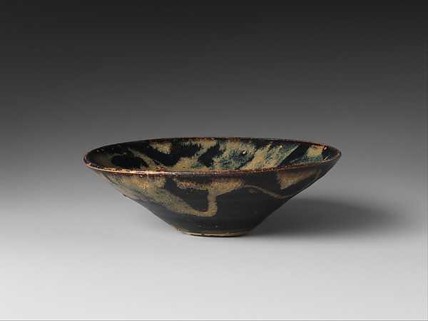 Tea Bowl with Splashed Decoration