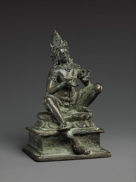 Seated Bodhisattva Vajrapani