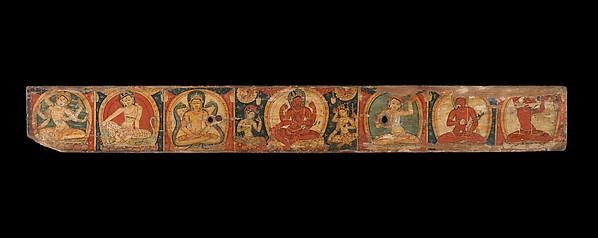 Manuscript Cover with Avalokiteshvara (The Bodhisattva of Infinite Compassion)