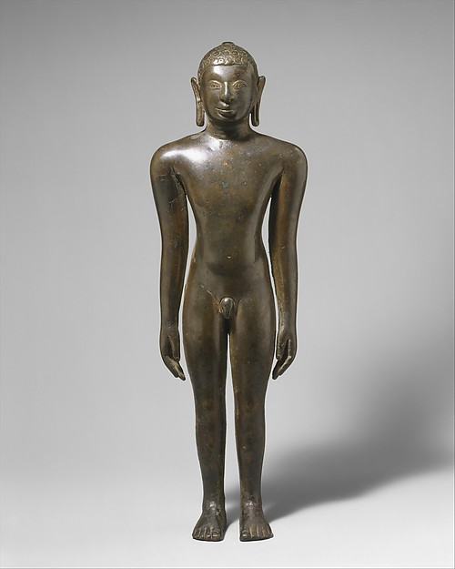 Jain Digambara Tirthanhara Standing in Kayotsarga Meditation Posture