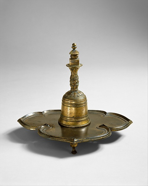 Buddhist Ceremonial Bell with Pagoda Finial