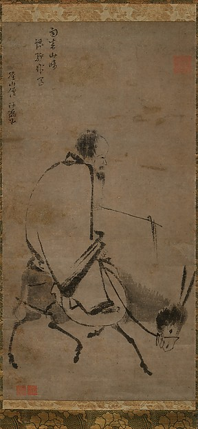 Chan Master Riding a Mule