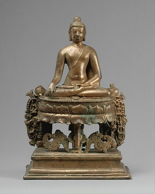 Seated Buddha Akshobhya (The Transcendent Buddha of the East)