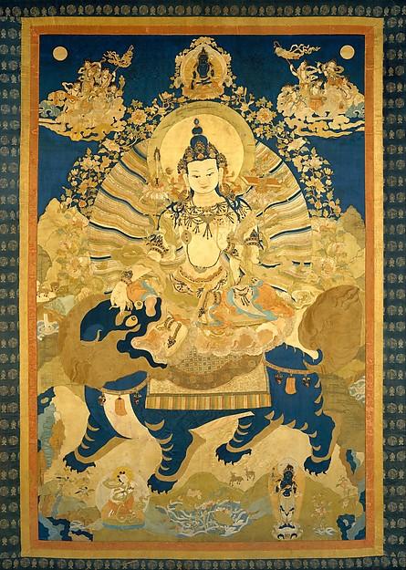 Manjushri, the Bodhisattva of Transcendent Wisdom
