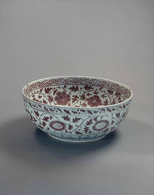 Bowl with Chrysanthemums