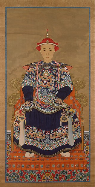 Portrait of Qianlong Emperor As a Young Man