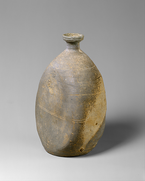 Bottle with Flattened Sides