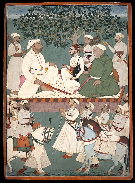 Maharaja Sidh Sen Receiving an Embassy