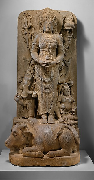 Posthumous Portrait of a Queen as Parvati