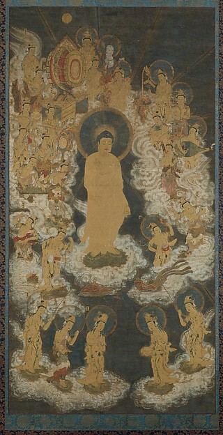阿弥陀聖衆来迎図