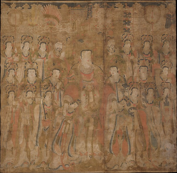 Brahma with Attendants and Musicians
