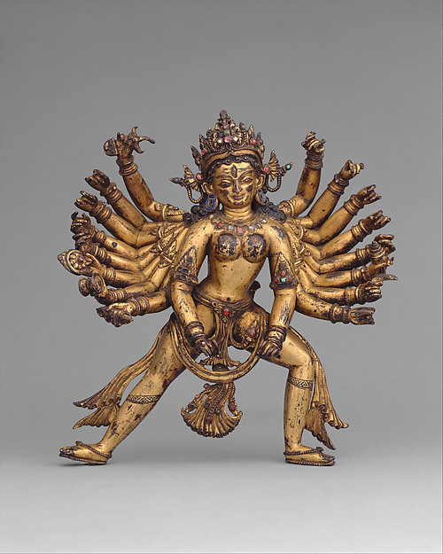 Durga as Slayer of the Buffalo Demon Mahisha (Mahishasura Mardini)