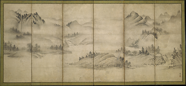 Landscape of the Four Seasons (Eight Views of the Xiao and Xiang Rivers)
