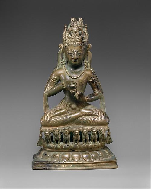 Vairochana, the Transcendent Buddha of the Center