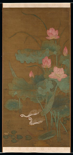 Lotus and Water Birds