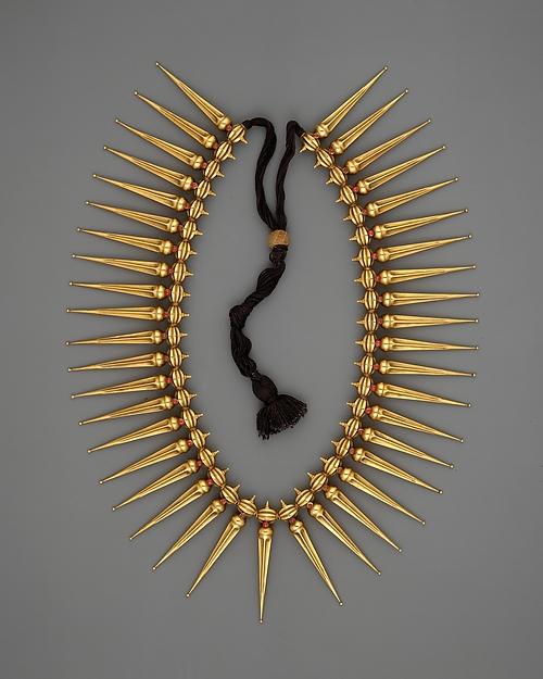 Jasmine-Bud Necklace (Malligai Arumbu Malai)