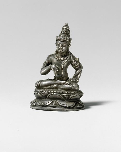 Seated Bodhisattva Vajrapani (?)
