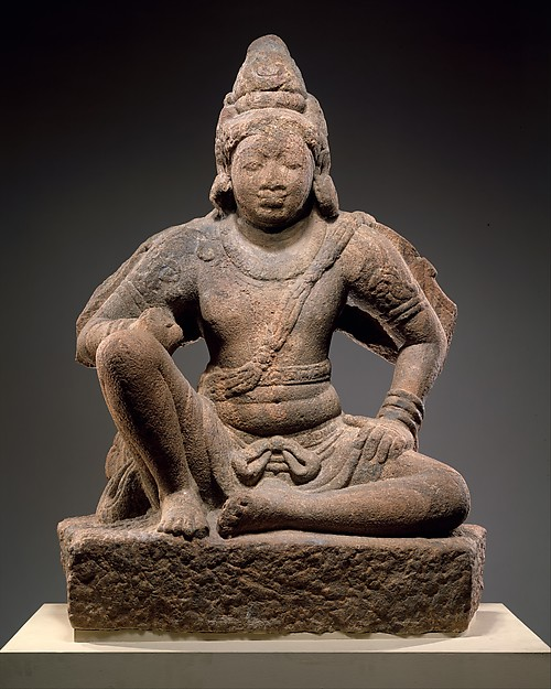 Garuda (Vishnu's Mount) Seated in Royal Ease