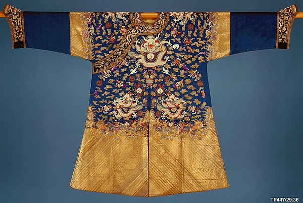 Embroidered Court Robe