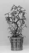 Pot with Flowering Plant