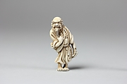 Netsuke of Old Man