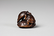 Netsuke of Three Turtles