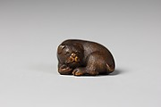 Netsuke of a Dog