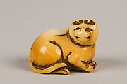 Netsuke of Cat