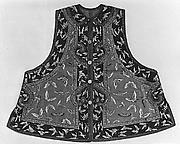 Woman's Sleeveless Jacket with Butterflies