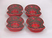 Set of Four Saucers