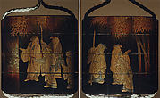 Case (Inrō) with Design of Seven Sages of the Bamboo Grove