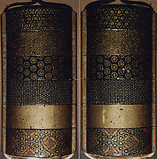 Case (Inrō) with Design of Various Brocade Patterns