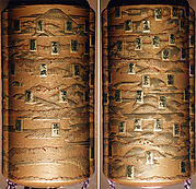 Case (Inrō) with Design of the Fifty-Three Stations of the Tokaidō