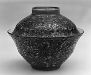 Bowl with Cover (one of a pair)