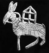Plaque in the Form of a Donkey