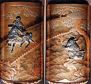 Case (Inrō) with Design of Chōryō and Kōsekikō at Kahi Bridge in China