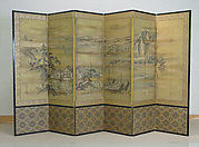 Six-Panel Folding Screen
