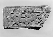 Fragment of a Lid (?) with a Hunting Scene