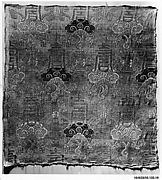 Panel with Shou Characters and Lingzhi Fungus