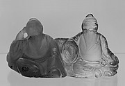 Group of Two Seated Figures