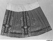 Woman's Wedding Skirt